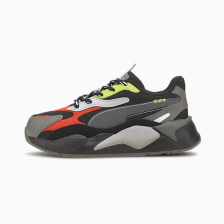 RS-X³ City Attack Little Kids' Shoes, Puma Black-Paprika, small