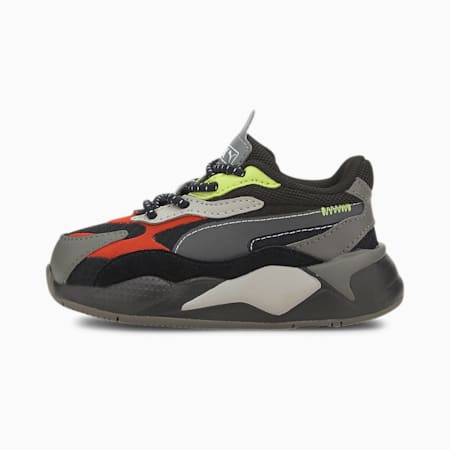 RS-X³ City Attack Toddler Shoes, Puma Black-Paprika, small