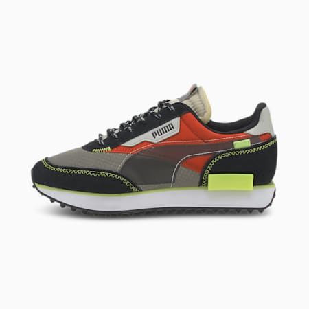 Future Rider City Attack Youth Trainers, Ultra Gray-Paprika, small