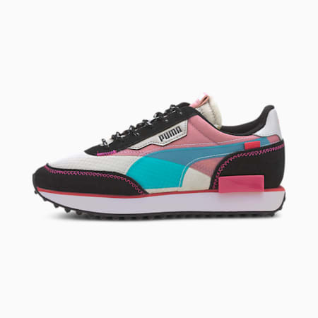 Future Rider City Attack Kids' Shoes JR, Gray Violet-Foxglove, small
