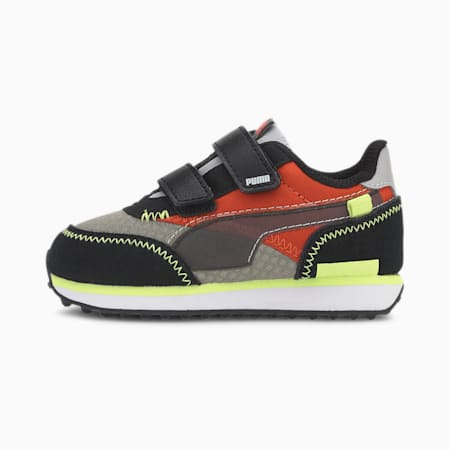 Future Rider City Attack Toddler Shoes, Ultra Gray-Fusion Coral, small