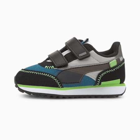 Future Rider City Attack AC Toddler Shoes, Digi-blue-Gray Violet, small