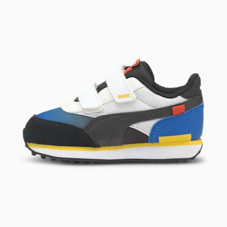 Future Rider Space Toddler Shoes, Lapis Blue-Puma White, small