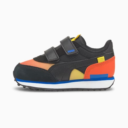 Future Rider Space Toddler Shoes, Paprika-Puma Black, small