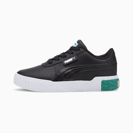 Cali Little Kids' Shoes, Puma Black-Viridian Green, small