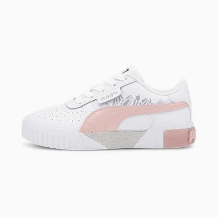 Cali Arctic Kinder Sneaker, Puma White-Peachskin, small