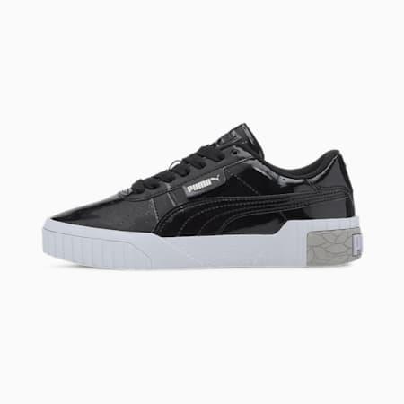 Baskets Cali Patent enfants et adolescents, Puma Black-Puma White, small