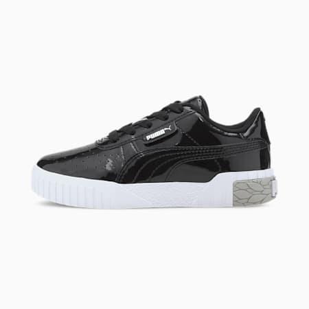 Cali Patent Little Kids' Shoes, Puma Black-Puma White, small