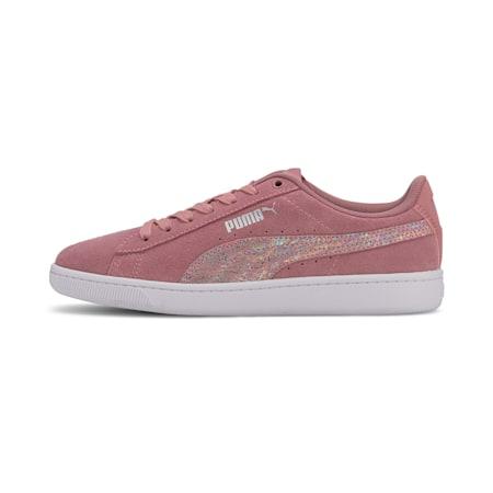 Vikky v2 Multicolour FS SoftFoam+ Kid's Sneakers, Foxglove-Puma Silver-White, small-IND