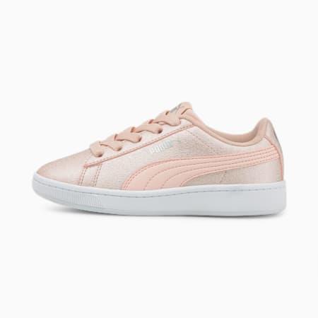 ZapatosPUMA Vikky v2Glitz2para niños pequeños, Lotus-Lotus-Puma Silver-Puma White, pequeño
