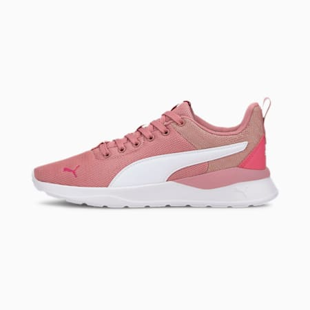Anzarun Lite Metallic SoftFoam+ Kid's Sneakers, Foxglove-White-Glowing Pink, small-IND