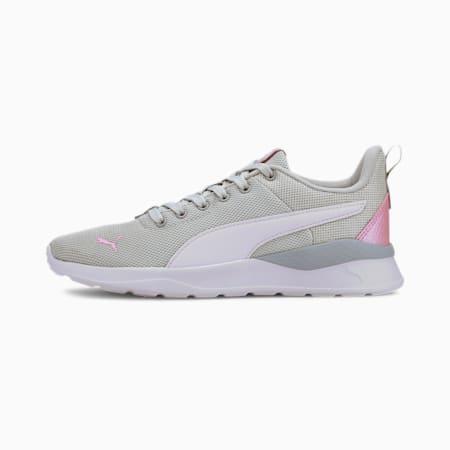 Anzarun Lite Metallic SoftFoam+ Kid's Sneakers, Gray Violet- White-Pale Pink, small-IND