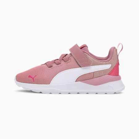 Anzarun Lite Metallic Little Kids' Shoes, Foxglove-White-Glowing Pink, small