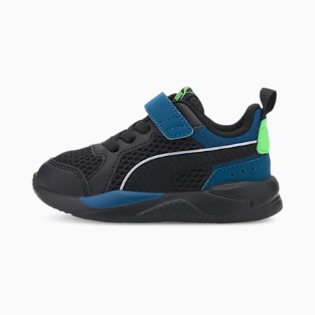 X-RAY Glow Toddler Shoes, Black-Black-Digi-Blue-Green, small