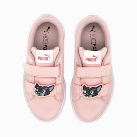 Smash v2 SoftFoam+ Animals Kids' Sneakers, Peachskin-Vaporous Gray, small-IND