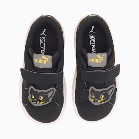 Zapatillas para niños Smash v2 Animals V, Puma Black-Ultra Gray, small