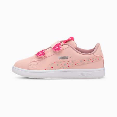 PUMA Smash v2 Candy Little Kids' Shoes, Peachskin-Peachskin, small