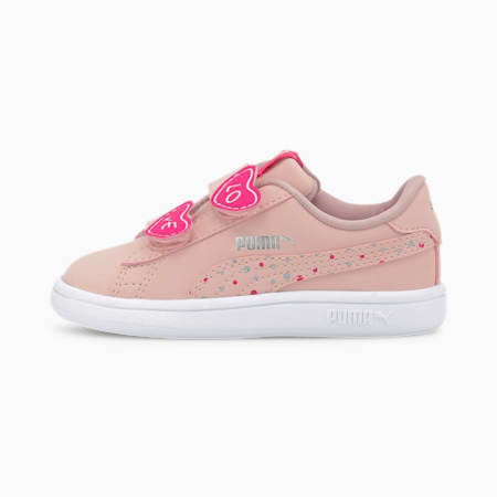 PUMA Smash v2 Candy Toddler Shoes, Peachskin-Peachskin, small