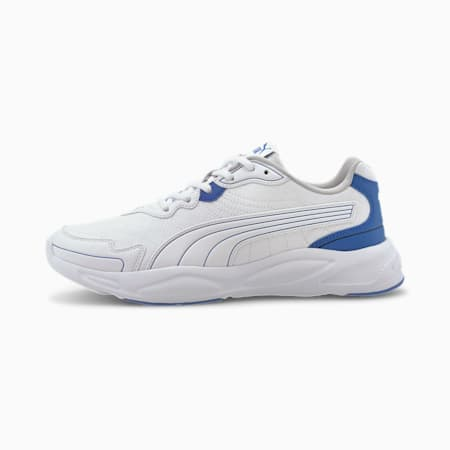90s Runner Nu Wave Sig IMEVA Shoes, White-Lapis Blue-Gray Violet, small-IND