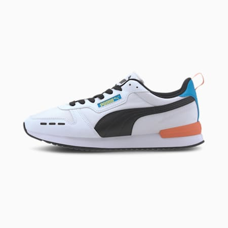 R78 Neon CMEVA Shoes, Puma White-Puma Black, small-IND