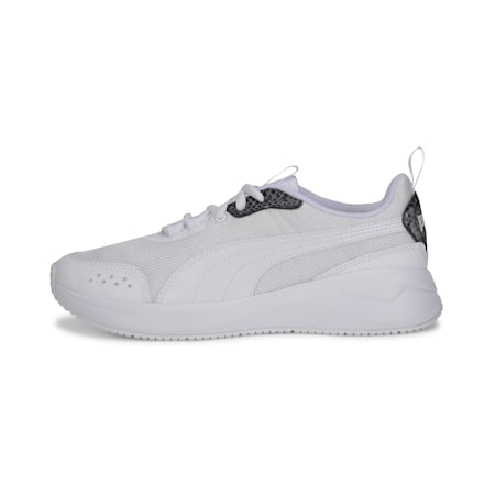 Nuage Run Snake IMEVA Women's Shoes, Puma White-Puma White, small-IND
