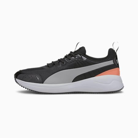 Damskie buty sportowe Nuage Run Pearl, Puma Black-Gray Violet, small
