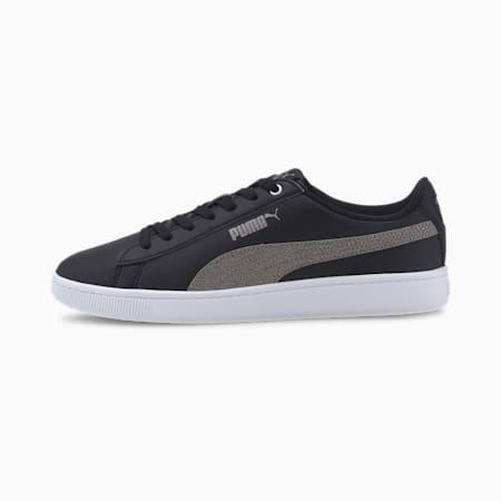 Vikky V2 Metallic SoftFoam+ Women's Shoes, Puma Black-Gold-White, small-IND