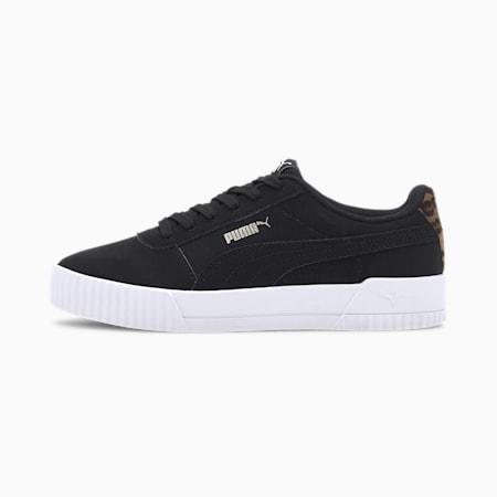 Carina Leo Damen Sneaker, Puma Black-Puma Black, small