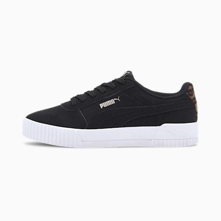 Carina Leo Women's Trainers, Puma Black-Puma Black, small