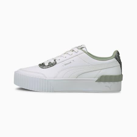 Carina Lift Snake Women's Shoes, Puma White-Puma White, small-IND