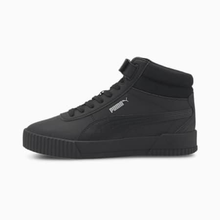 Carina Mid Women's Sneakers, Puma Black-Puma Black, small-IND