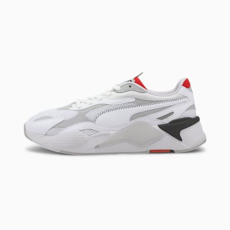 RS-X Millennium Trainers, Puma White-Gray Violet, small