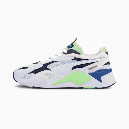 RS-X Millennium Trainers, Puma White-Peacoat, small
