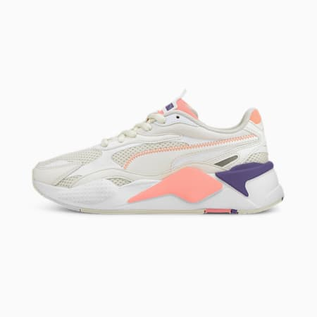 RS-X Millennium Trainers, Whis White-PWhite-Nrgy Peach, small