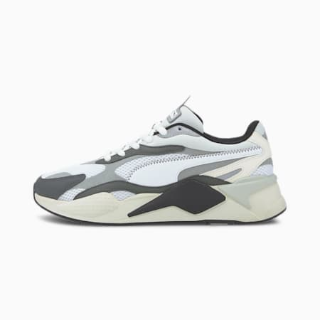 RS-X Millennium Trainers, P.White-P.Black-Limestone, small