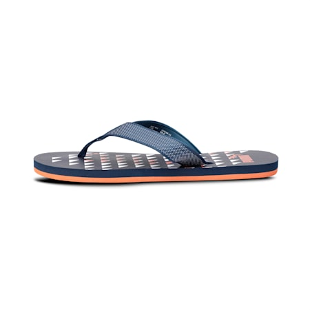 Tetris IDP Flip Flops, Gibraltar Sea-Jaffa Orange, small-IND