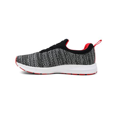 Rive Slipon MU IDP Women's Walking Shoes, Puma Black-Hibiscus -Silver, small-IND