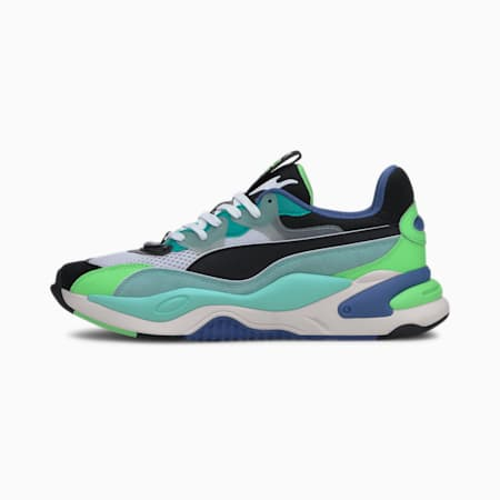 RS-2K Internet Exploring Trainers, Puma Black-ARUBA BLUE, small