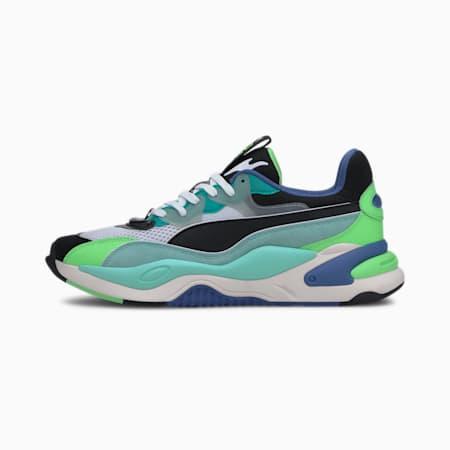 RS-2K Internet Exploring Men's Sneakers, Puma Black-ARUBA BLUE, small