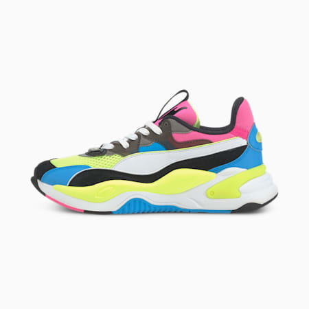 RS-2K Internet Exploring Trainers, Puma Black-Fizzy Yellow, small