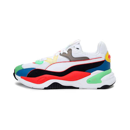 RS-2K Internet Exploring Sneakers, Poppy Red- White- Black, small-IND