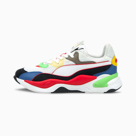 RS-2K Internet Exploring Trainers, Poppy Red- White- Black, small-SEA