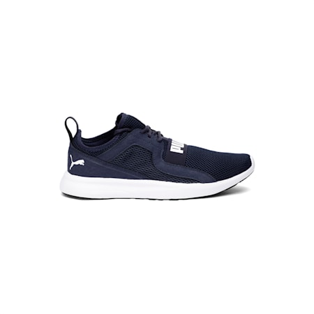 Troy MU Running Shoe, Peacoat-Puma White, small-IND