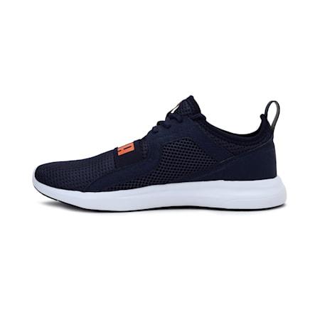 Troy MU Running Shoe, Peacoat-Vibrant Orange, small-IND