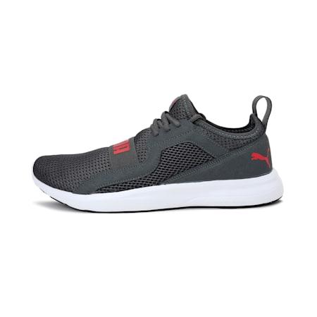 Troy MU Running Shoe, Dark Shadow-High Risk Red, small-IND