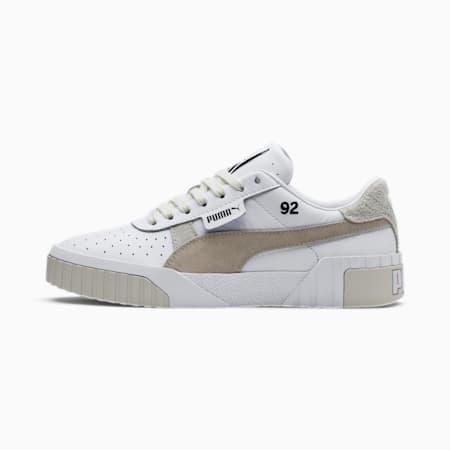 PUMA x SELENA GOMEZ Cali Lthr Suede Damen Sneaker, Puma White-Silver Gray, small