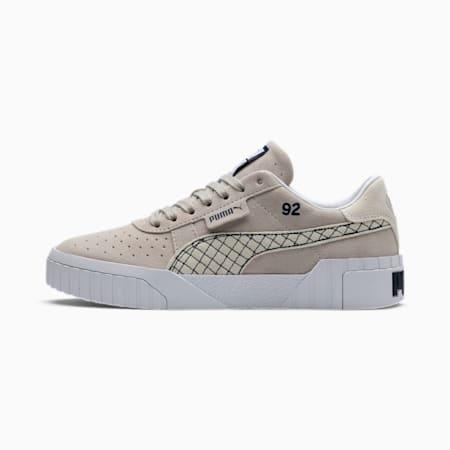 Zapatillas para mujer PUMA x SELENA GOMEZ Cali Suede Quilt, Silver Gray-Puma White, small