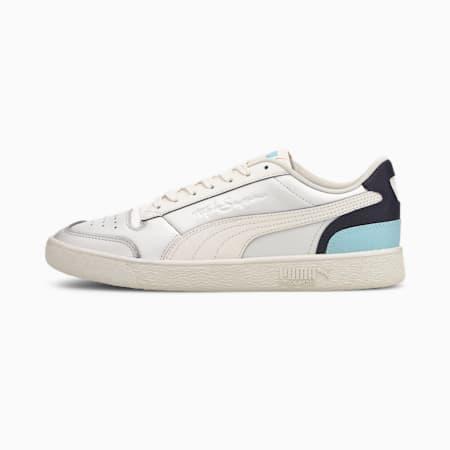 Ralph Sampson Lo Tones Sneaker, WhisprWht-Peacoat-Aquamarine, small