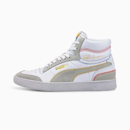 Ralph Sampson Mid Stitch Men's Sneakers, Puma White, small