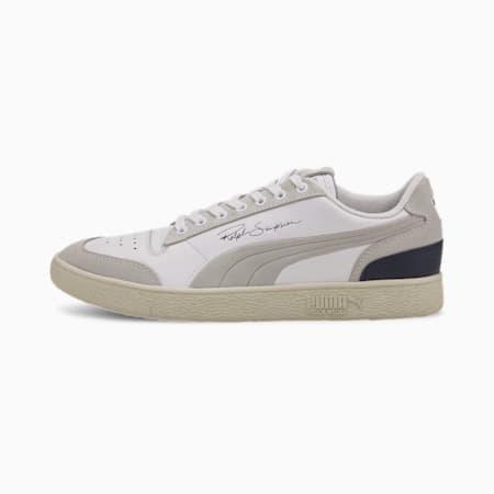Ralph Sampson Lo PRM Sneaker, Puma Wht-Peacoat-Whisper Wht, small